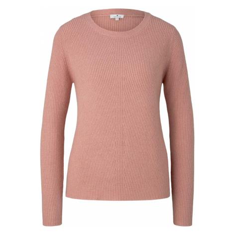 TOM TAILOR Damen Strukturierter Pullover, rosa