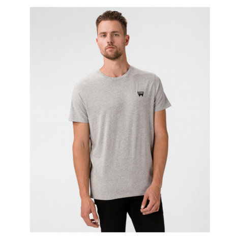 Wrangler Sign Off T-Shirt Grau