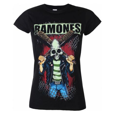 Metal T-Shirt Frauen Ramones - GABBA GABBA HEY - PLASTIC HEAD - BILMAR00565G XL