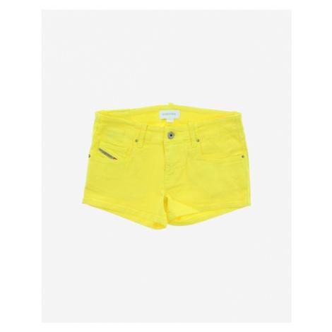 Diesel Kinder Shorts Gelb