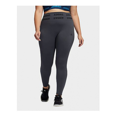 Adidas Training Aeroknit High-Rise 7/8-Tight - Große Größen - Damen, Dgh Solid Grey