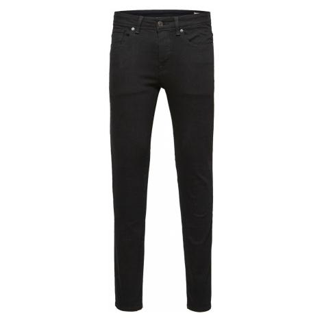 Selected Homme Herren Jeans Slhskinny-Pete 1001 - Skinny Fit - Schwarz - Black