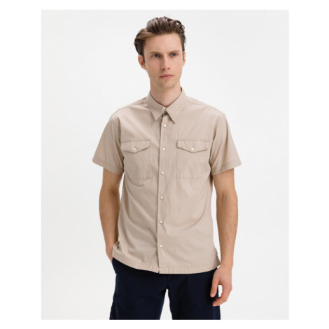 Jack & Jones Paul Solid Hemd Beige