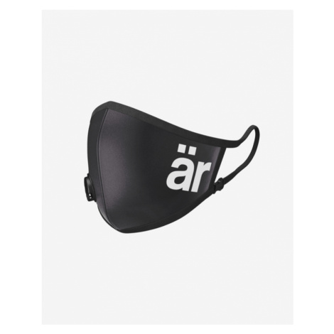 är Big Logo Mask with valve and nanofilter for children Schwarz