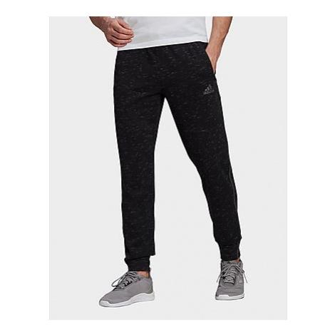 Adidas Essentials Mélange Hose - Black Melange - Herren, Black Melange
