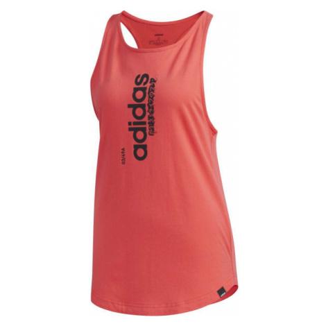 adidas VERTICAL TK rosa - Damen Top