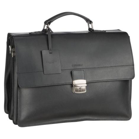 Burkely Aktentasche Vintage Dean Briefcase 6379 Black (14.6 Liter)
