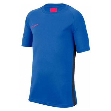 Nike DRY ACDMY TOP SS B blau - Jungen Fußball Trikot