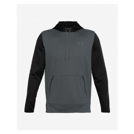 Under Armour ColdGear® Print Mock Sweatshirt Grau