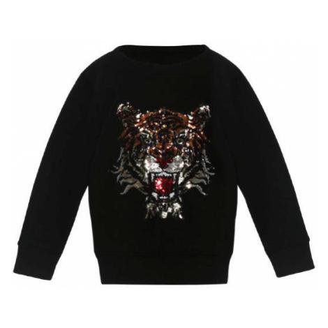 Mini Sparkling Tiger Sweatshirt Black