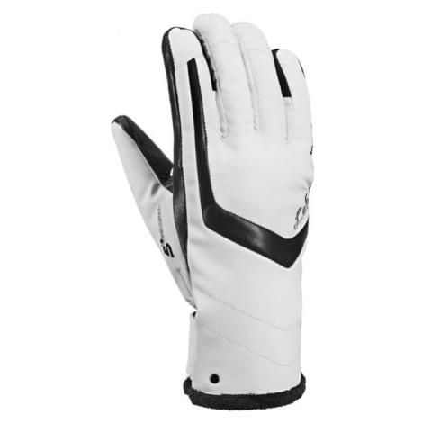 Leki STELLA S LADY TRIGGERS weiß - Damen Handschuhe für die Abfahrt