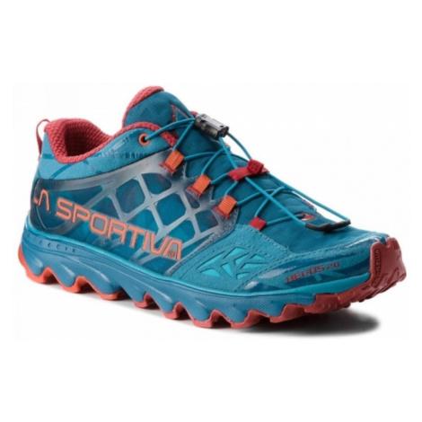Schuhe La Sportiva Helios 2.0 Men tropisch blau / mandarine