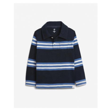 GAP Polo T- Shirt Kinder Blau