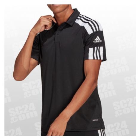 Adidas Squadra 21 Polo Shirt schwarz/weiss Größe XL