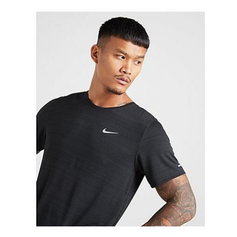 Nike New Miler T-Shirt - Black - Herren, Black