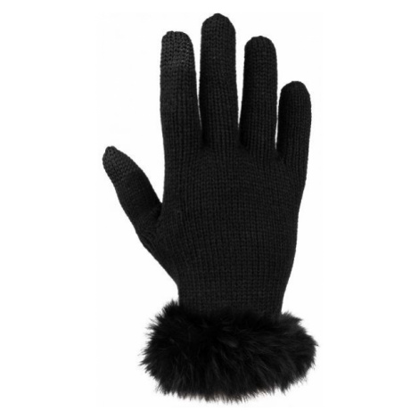 Willard MIKEA schwarz - Strickhandschuhe für Damen