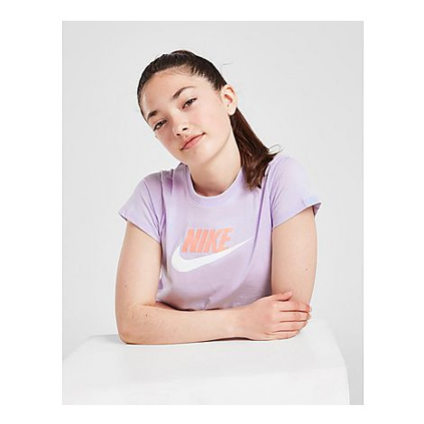 Nike Girls' Sportswear Crop Futura T-Shirt Kinder