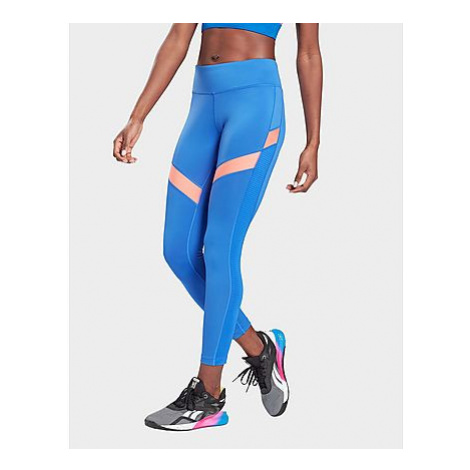 Reebok workout ready mesh leggings - Court Blue - Damen, Court Blue