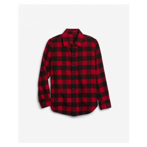 GAP Hemd Kinder Schwarz Rot