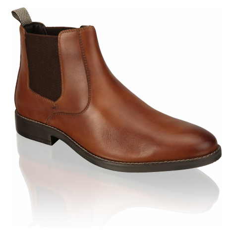 Pat Calvin Glattleder Chelsea Boots