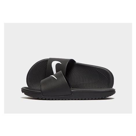 Nike Kawa Badelatschen Kleinkinder - Black/White - Kinder, Black/White