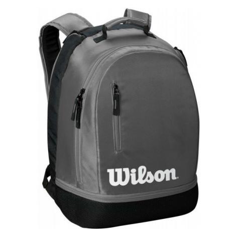 Wilson TEAM BACKPACK grau - Tennis Rucksack