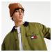 Tommy Jeans Badge Worker Jacket Uniform Olive
