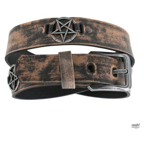 Gürtel Pentagramm - brown - LSF2 28 110