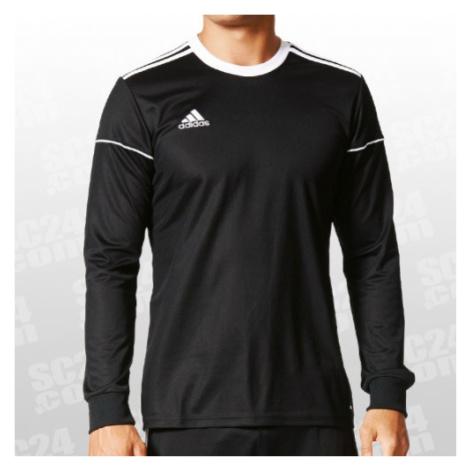 Adidas Squadra 17 LS Jersey schwarz/weiss Größe XL