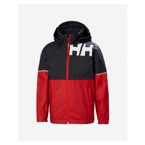Helly Hansen Pursuit Kids Jacket Blau Rot