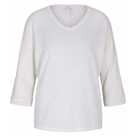 TOM TAILOR Damen T-Shirt mit Fledermausärmeln, beige