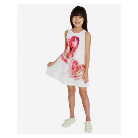 Desigual Leticia Kinderkleider Weiß