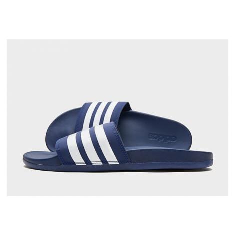 Adidas Comfort Adilette - Dark Blue / Cloud White / Dark Blue - Damen, Dark Blue / Cloud White /