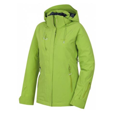 Damen Ski Jacke Husky Nopi L green