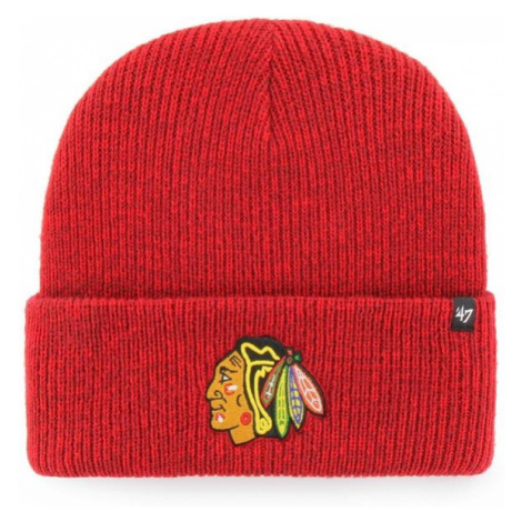 47 NHL Chicago Blackhawks Brain Freeze CUFF KNIT rot - Wintermütze