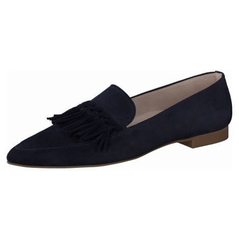 Damen Paul Green Klassische Slipper blau