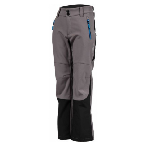 Lewro DAYK grau - Softshell Hose für Kinder