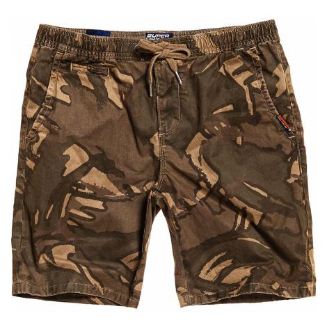 Superdry Shorts Herren SUNSCORCHED SHORT Sand Outline Camo