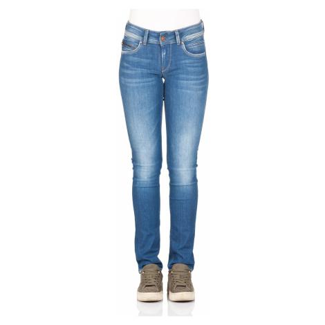 Pepe Jeans Damen Jeans New Brooke - Slim Fit - Blau - Blue Denim