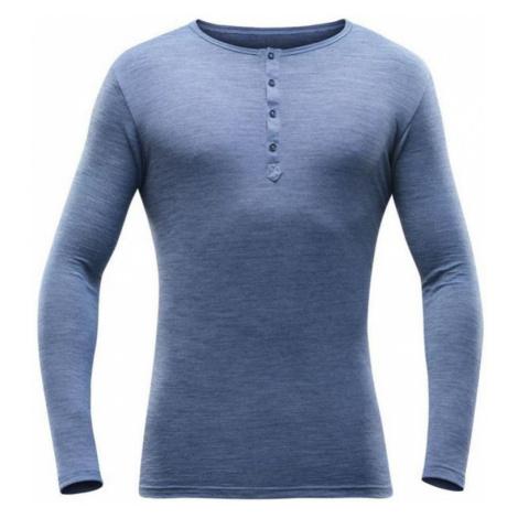Herren T-Shirt Devold Hess MAN schaltfläche shirt GO 181 247 A 238A