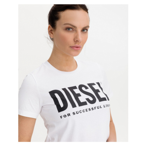 Diesel T-Sily-Wx T-Shirt Weiß