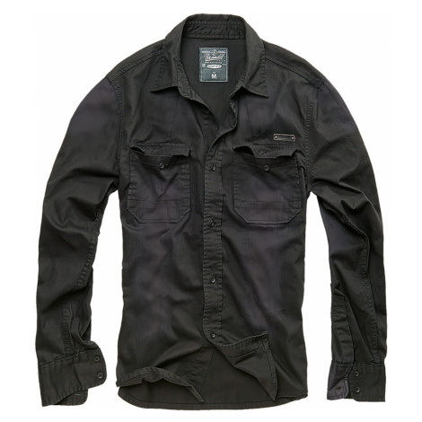 Brandit Hemd HARDEE DENIM SHIRT BD4018 Black