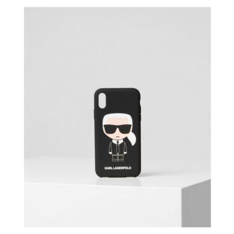 K/Ikonik Handyhülle für iPhone XR Karl Lagerfeld