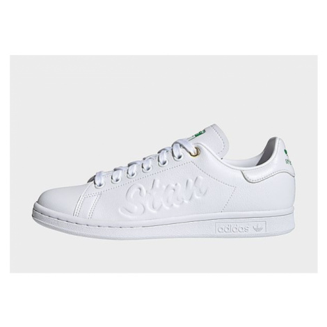 Adidas Originals Stan Smith Schuh - Cloud White / Cloud White / Green - Damen, Cloud White / Clo