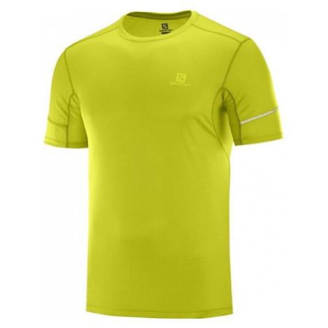 Salomon AGILE SS TEE grün - Herren T- Shirt