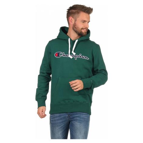 Grüne sportsweatshirts über kopf für herren