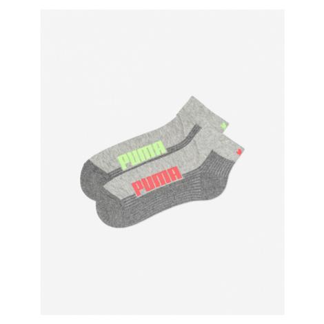 Puma Socken 2 Paar Grau