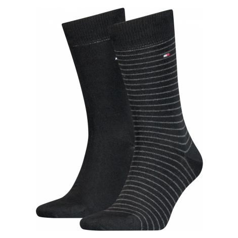 Tommy Hilfiger Herren Socken Small Stripe 2er Pack
