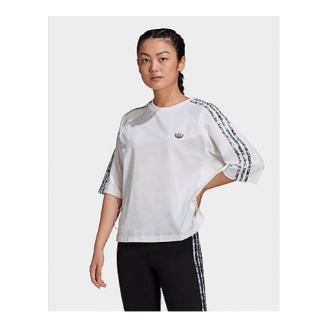 Adidas Originals Boxy T-Shirt - White - Damen, White