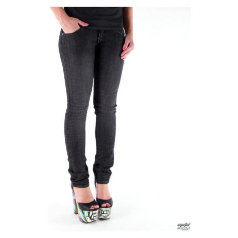 Damen Hose (Jeans) METAL MULISHA - Babe Skinny - BLACK
